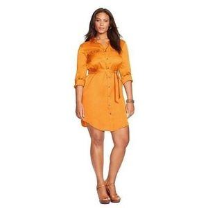 Lauren Ralph Lauren orange dress 14